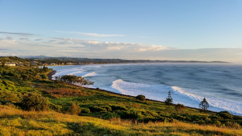 Lennox Head from the Pat Morton Lookout