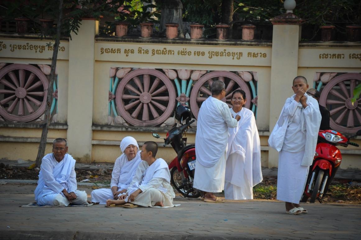 Female monks.