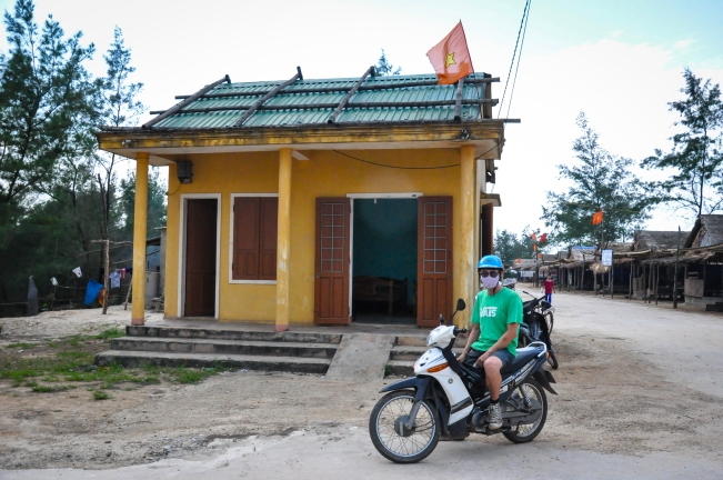 Little villages along the road back to Hue.  The sights were amazing!