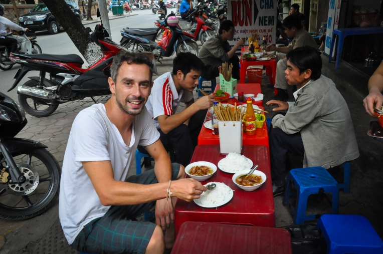 Street food heaven is Hanoi!