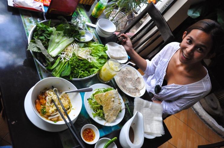 Vietnamese food overload!